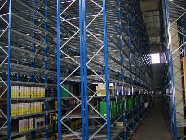 Scaffalature per Commissionatore- Mini racking system for order picking forklift 2